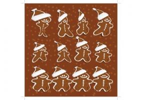 285x200 Gingerbread Man Vectors Free Vector Graphic Art Free Download