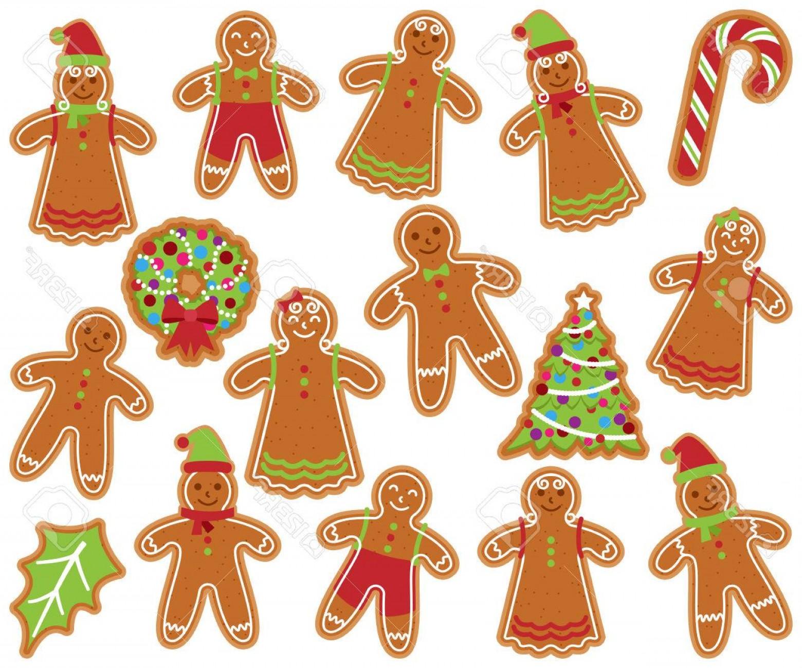 1560x1299 Photostock Vector Cute Vector Collection And Gingerbread Men Women