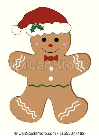 342x470 Christmas Gingerbread Man.