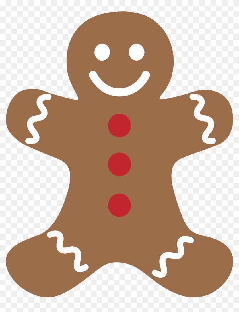 840x1093 Funny Gingerbread Man Clipart Kid