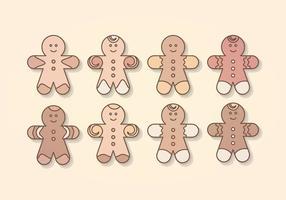 286x200 Gingerbread Man Free Vector Art