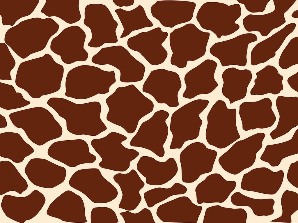 1024x766 Giraffe Pattern Vector Art Amp Graphics
