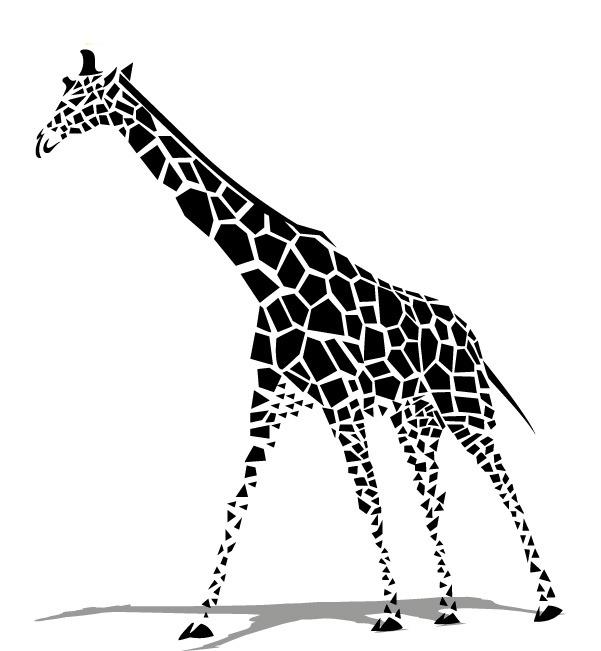 601x651 Giraffe Vector, Giraffe, Vector, Animal Png And Vector For Free