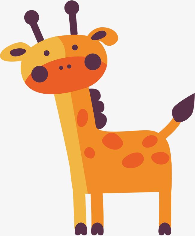 650x786 Cute Giraffe Vector, Giraffe Clipart, Giraffe, Originality Png And