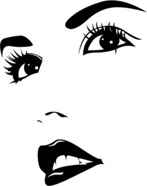291x368 Girl Face Vector Free Vector Download (4,963 Free Vector) For