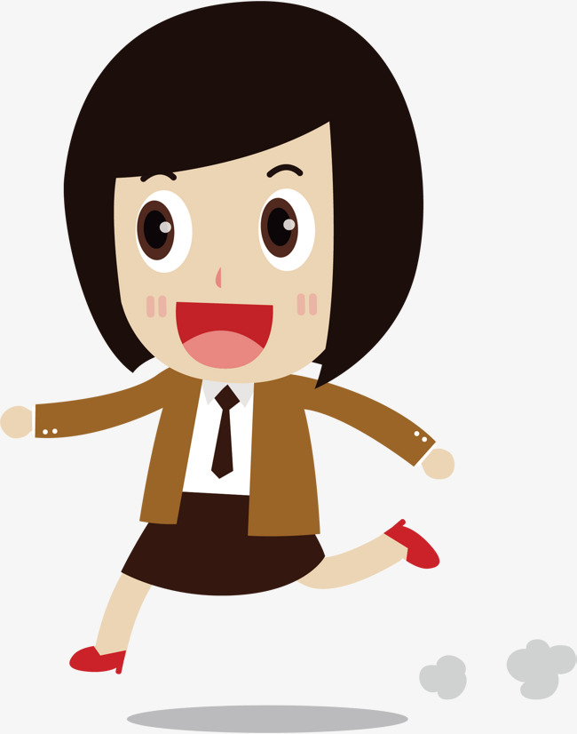 650x826 Vector Short Hair Girl, Hair Vector, Girl Vector, Short Hair Png