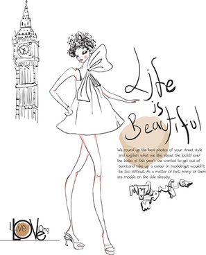 297x368 Fashion Girl Vector Art Free Free Vector Download (217,324 Free