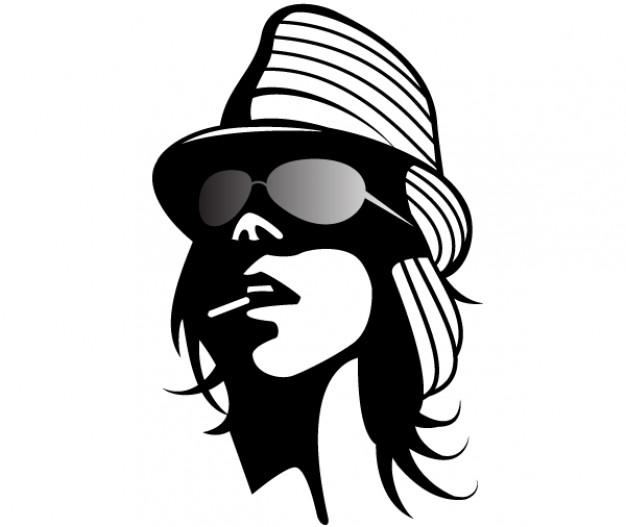 626x527 Fashion Girl Vector Clip Art Vector Free Download