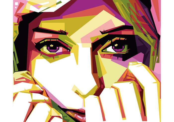 700x490 Hijab Girl Vector Wpap