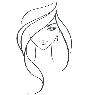 380x400 Women Vector 238447 By Bersonne Royalty Free Vector Art, Vector