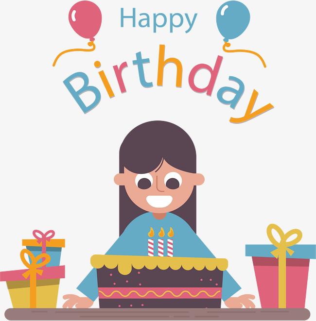 650x661 Free Happy Birthday Girl Png Transparent Happy Birthday Girl.png
