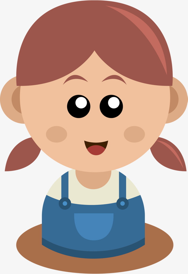 650x948 Smiling Little Girl Vector, Girl Vector, Cartoon, Kid Png And