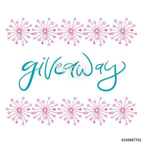 500x500 Giveaway Vector Icon. Banner For Social Media Design. Stock Image