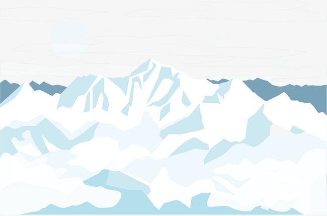650x429 Glacier Snow Mountain, Snow Vector, Mountain Vector, Mountain