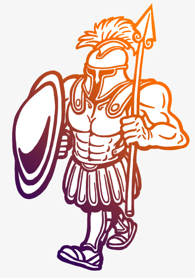 650x924 Vector Ancient Equipment Gladiator, Ancient Soldiers, Spear