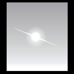 245x245 Free Star Glare Vector Graphic