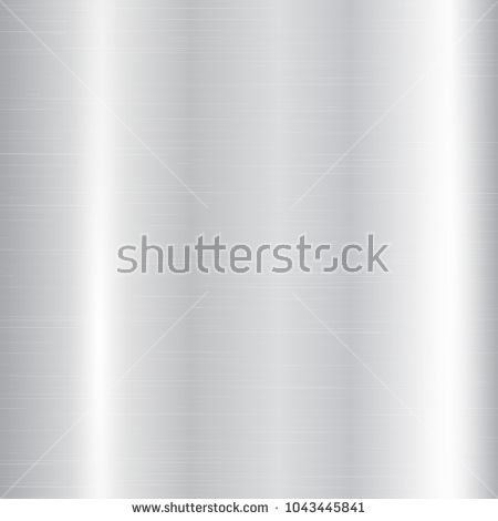 450x470 Metallic Texture Of Silvery Color With Stripes And Glare. Vector