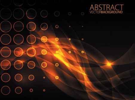 452x336 Orange Glare Vector Background Free Vector Background Download