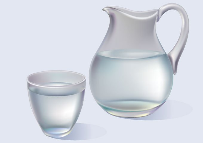 680x479 Free Jug And Glass Of Water Vector Graphics (Free) Psd Files