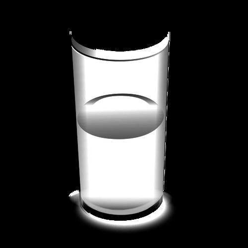 500x500 Glass Of Water Vector Illustration Public Domain Vectors