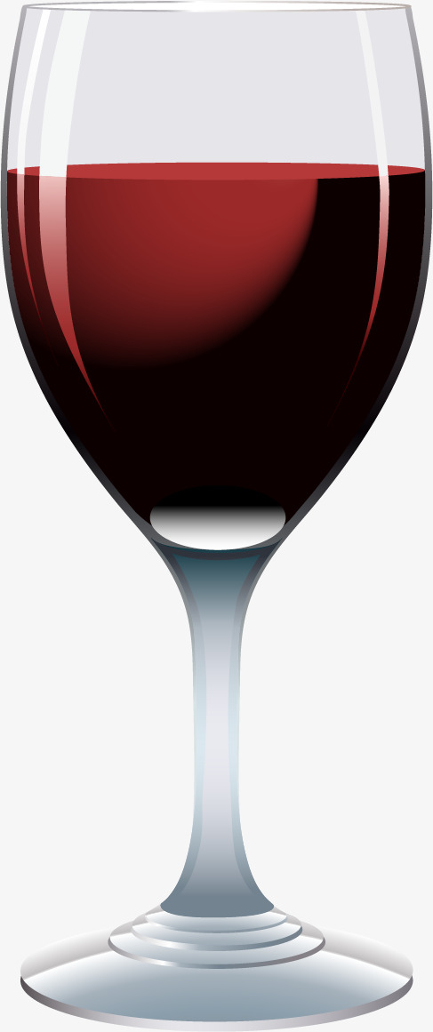 487x1161 Red Wine Glass Vector Material Png, Wine Vector, Wineglass, Red