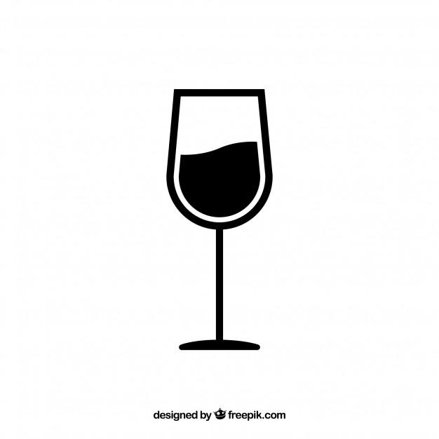626x626 Wine Glass Vector Vector Free Download