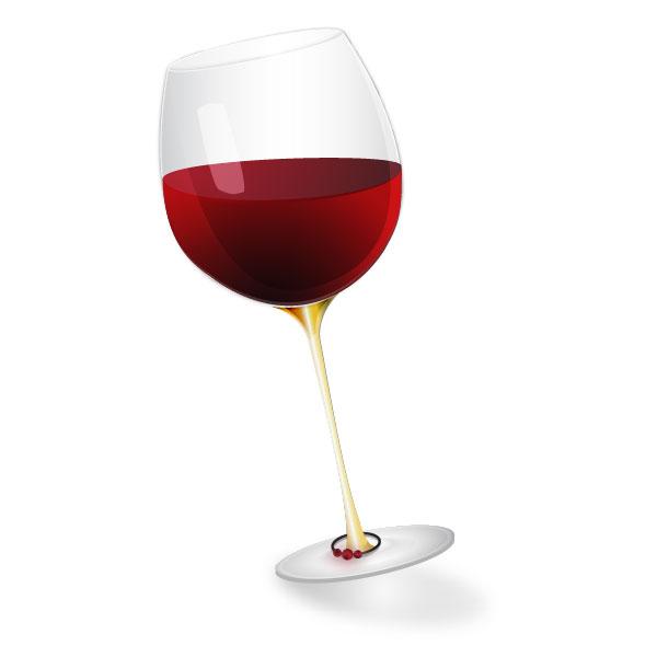 600x600 Create A Stylized Semi Realistic Wine Glass