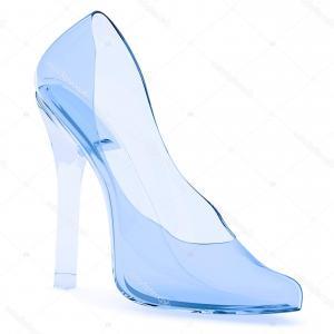 300x300 Photostock Vector Prince Putting The Glass Slipper On Cinderella