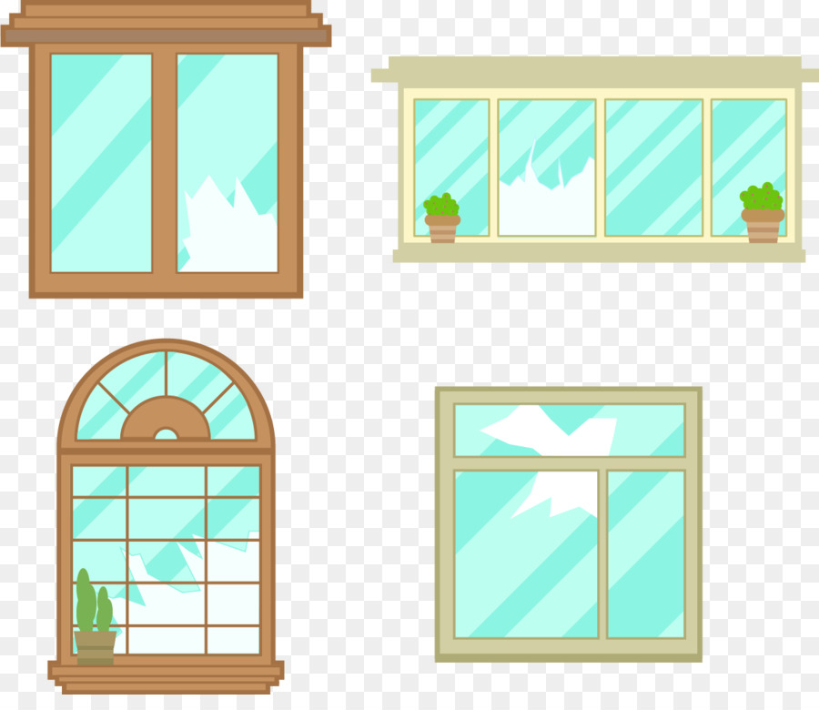 900x780 Download Window Glass Euclidean Vector Windows Crack
