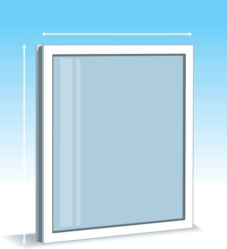 456x499 Free Plastic Window Clipart And Vector Graphics