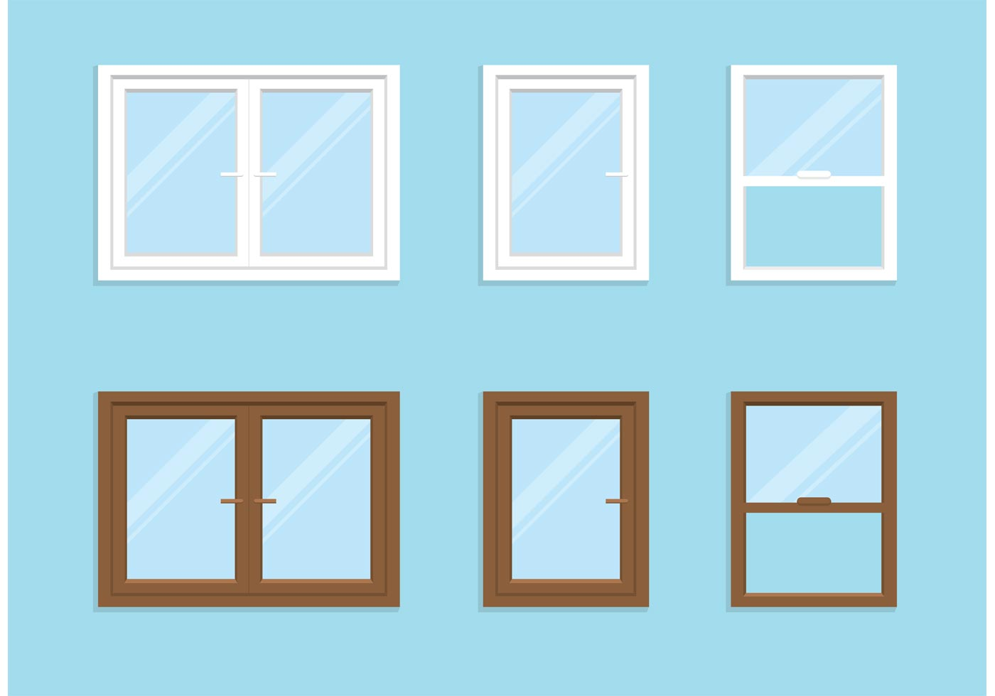 1400x980 Window Free Vector Art