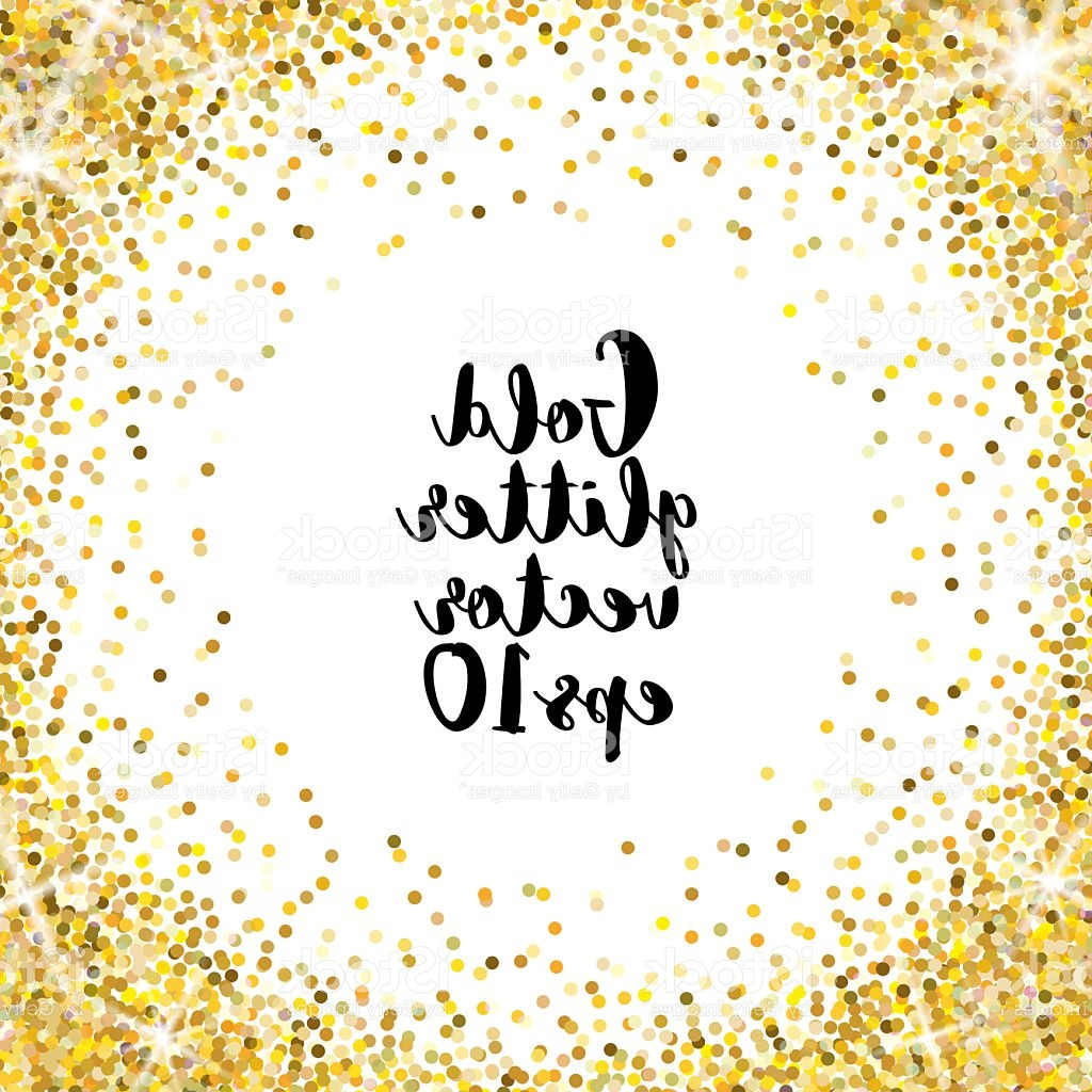 1024x1024 White And Gold Wedding Invitations Elegant Gold Glitter Vector