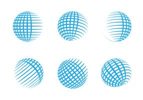 286x200 Globe Grid Free Vector Art
