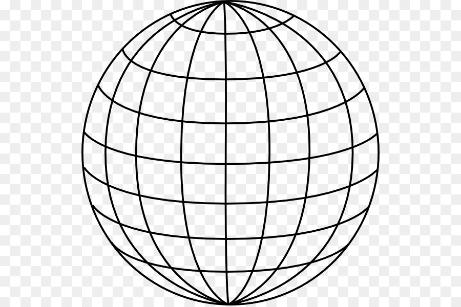 900x600 Globe Grid Latitude Clip Art
