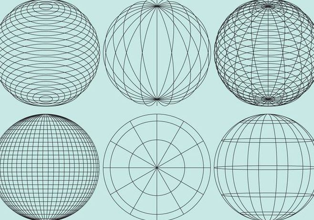 632x443 Globe Grids Free Vector Download 343197 Cannypic