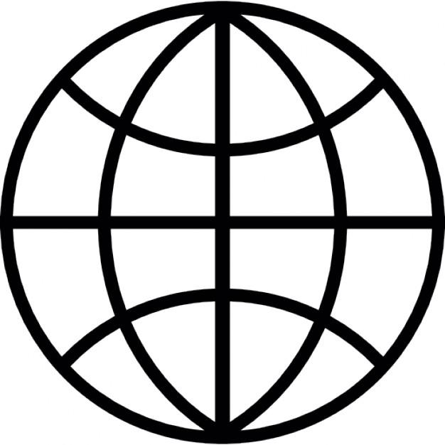 626x626 Globe Grid Dark Outline Icons Free Download