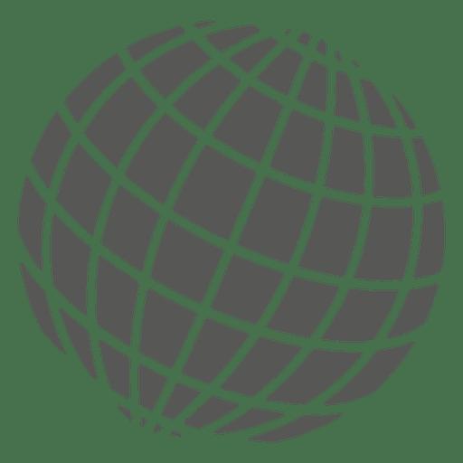 512x512 Grid On Globe Icon