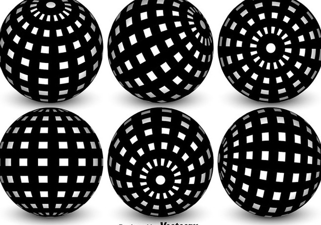 632x443 Vector Spheres With Globe Grid Free Vector Download 365289 Cannypic