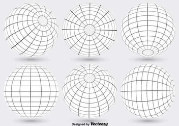 352x247 World Globe Grid Vectors Free Vector Download 356379 Cannypic