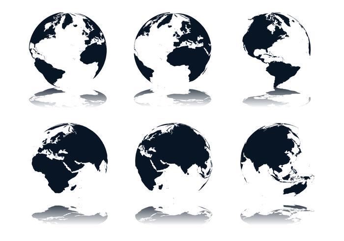 700x490 Globe Icon Vectors