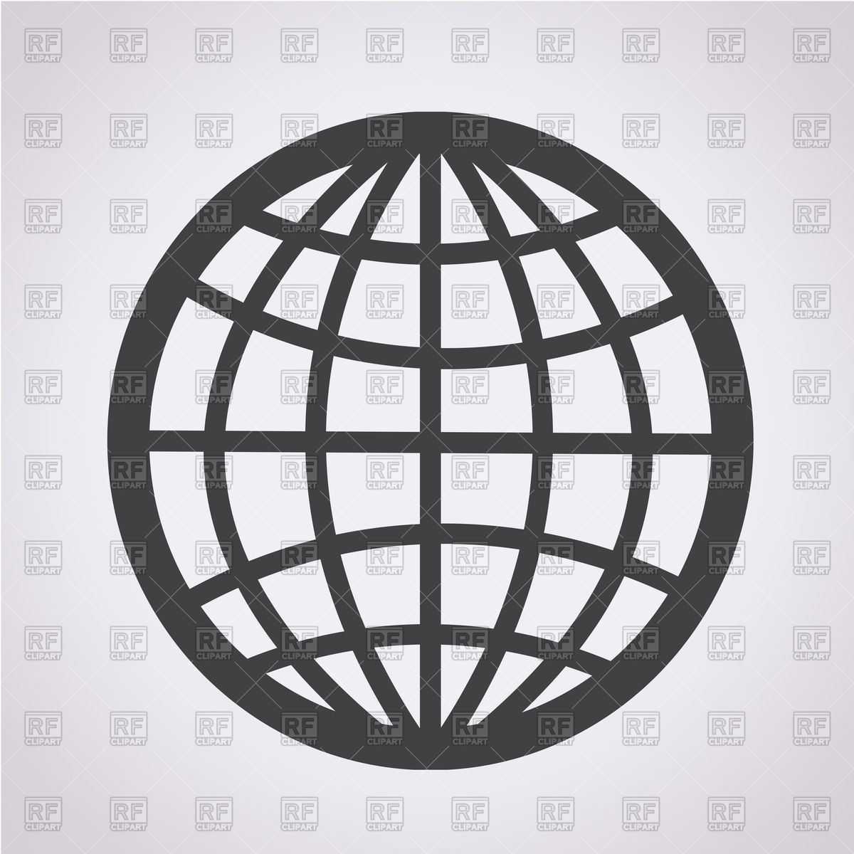 1200x1200 Globe Icon Vector Image Vector Artwork Of Objects Tumdee