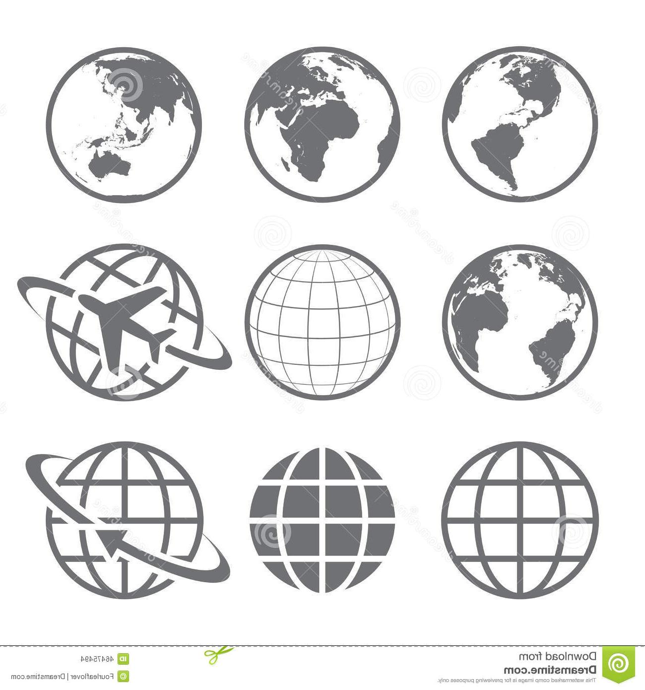 1300x1390 Top Simple Earth Icon Vector Drawing Free Vector Art, Images