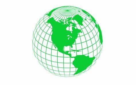 474x295 Earth Vector Line. Powerpoint Earth Globe Lines