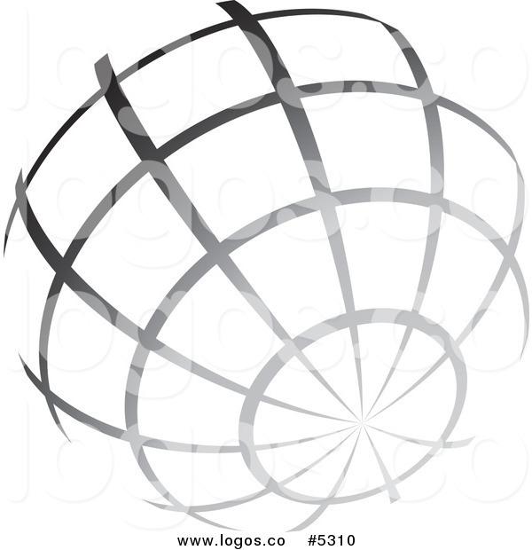 600x620 Globe Clipart Vector