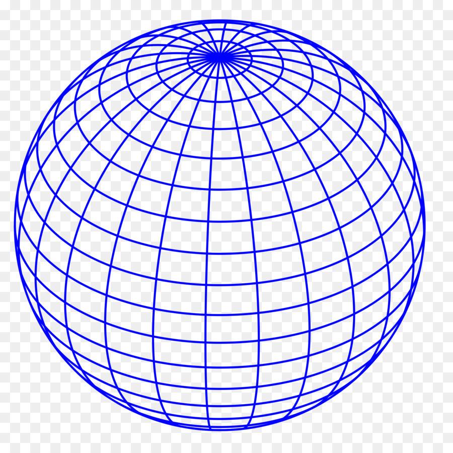 900x900 Globe Wire Frame Model Clip Art