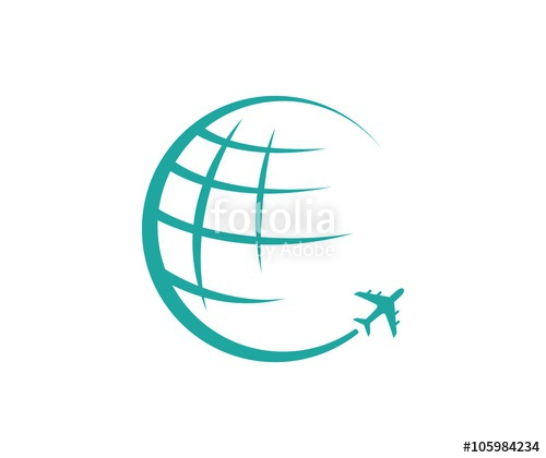 500x420 Globe Travel Logo Stock Image And Royalty Free Vector Files On