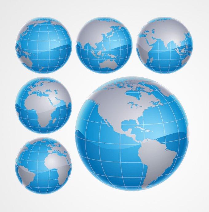 680x688 Free 3d World Globe Vector Graphics (Free) Psd Files, Vectors