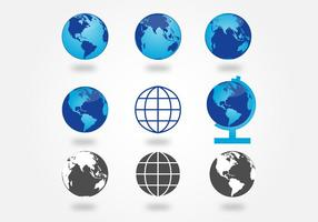 286x200 Globe Free Vector Art