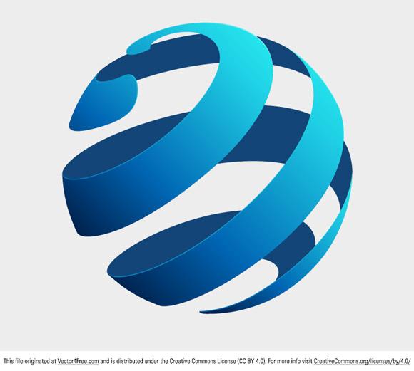 580x521 Globe Logo Concept