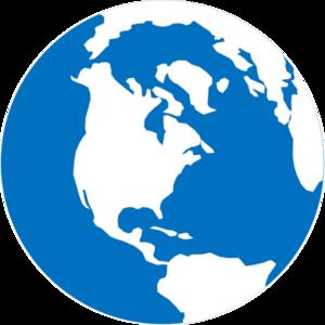 300x300 Simple Globe Clip Art